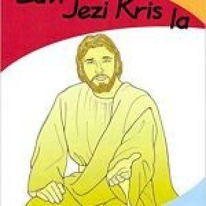 Lavi Jezi Kris La (Haitian Creole) (The Life of Jesus Coloring Book)