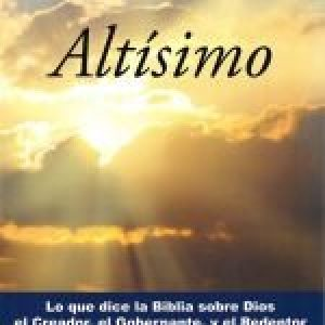 Dios altísimo (God Most High)